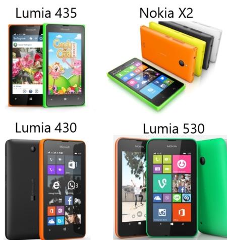 Lumia 530 435 430 Nokiax2