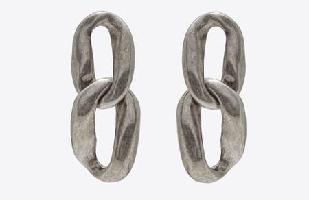 Saint Laurent Link Earrings