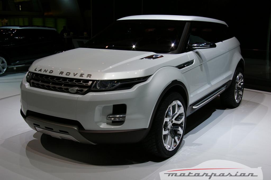 Foto de Land Rover LRX Concept en el salón de Ginebra (1/11)