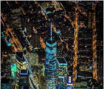 Contemplando Nueva York a 2500 metros de altura