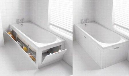 Novedoso sistema de almacenaje en bañeras