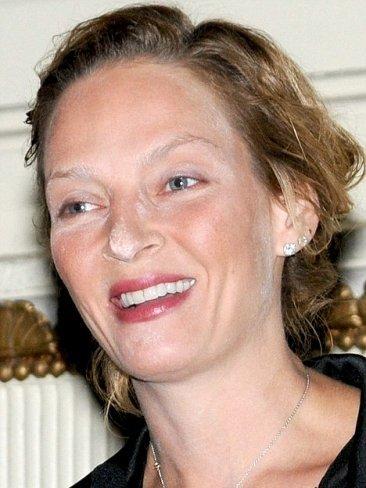 Maquillaje desastre: los polvos de Uma Thurman