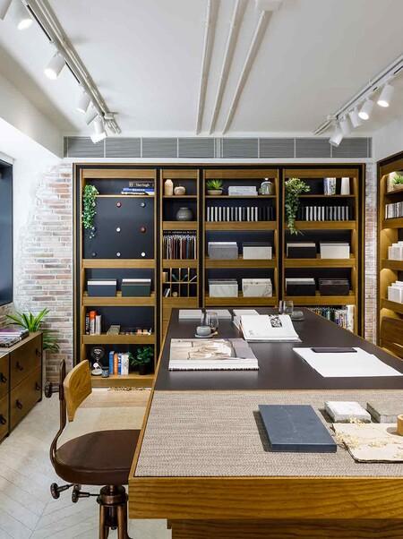 Atelier Lab Concebido Como Workshop Y Biblioteca