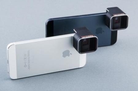 Los iPhone 5 y 5s podrán tomar fotos y vídeos panorámicos gracias a una nueva lente anamórfica