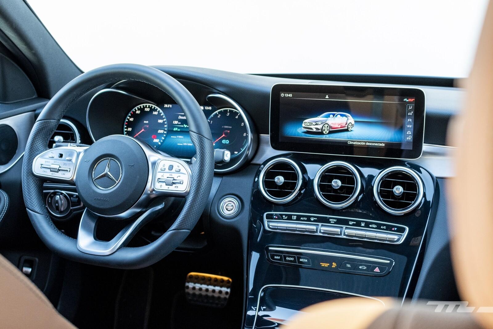 Foto de Mercedes-Benz C 300 de Estate 2020, prueba (4/46)