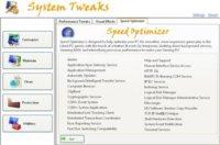 System Tweaks, interesante herramienta de mantenimiento del sistema