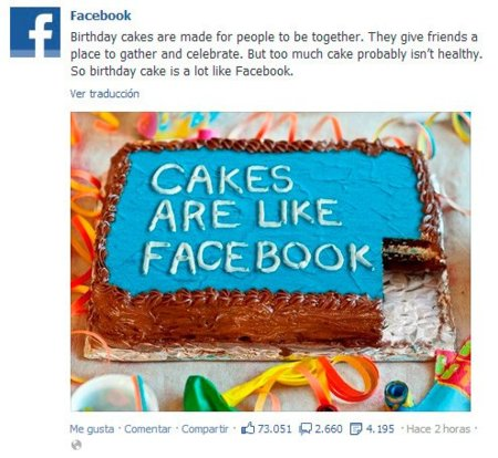 Facebook reconoce que su red social es buena en pequeñas dosis pero que no está bien abusar de ella