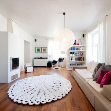 Otra alfombra de ganchillo de Matteria