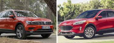 Volkswagen Tiguan Highline vs. Ford Escape Titanium: ¿Cuál SUV conviene más?