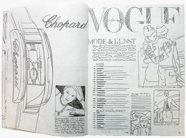 Foto de Vogue ilustrada (1/4)