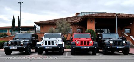 Jeep Wrangler Moab, presentación y prueba en Madrid