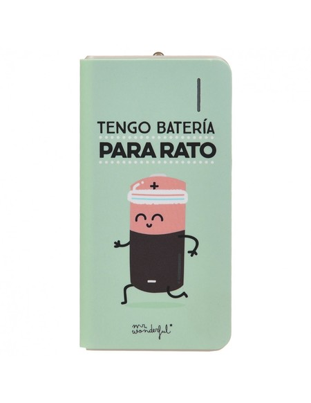 Bateria Externa Tengo Bateria Para Rato Mr Wonderful