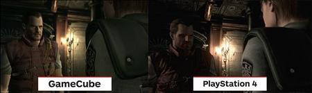Comparativa de Resident Evil de Game Cube vs versión de PS4