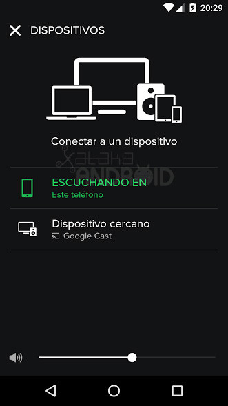 Spotify Chromecast