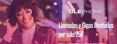 OLÉPHONE, primer OMV con datos móviles ilimitados, por 25 euros, y todo tipo de extras opcionales