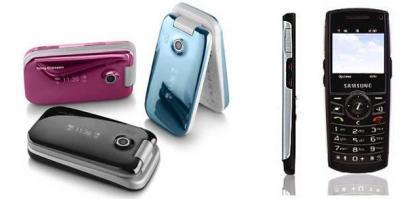 Samsung Z170 y Sony Ericsson Z610, los móviles del verano de Movistar