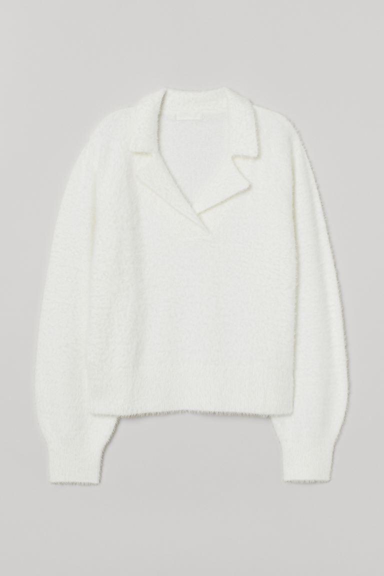 Jersey de punto con cuello