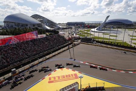 Salida Rusia F1 2019