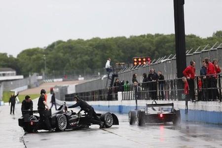 Primer shakedown de la Fórmula E con Jaime Alguersuari y Antonio García en pista
