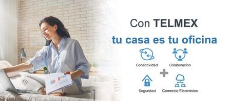 Telmex ofrece a todos sus usuarios seis meses gratis de Office 365, así como otras herramientas para trabajar desde casa