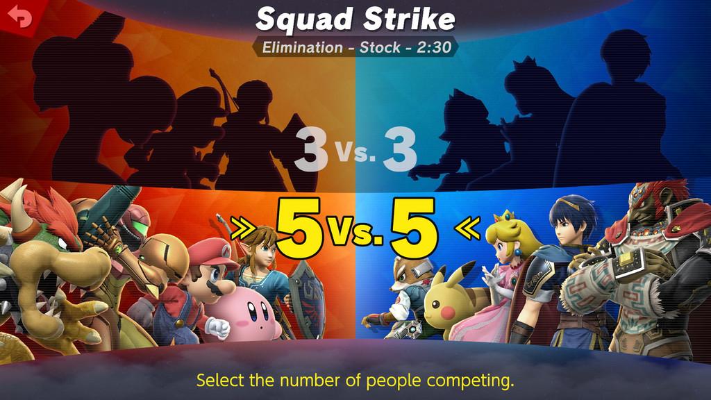 Super Smash Bros Ultimate Tropa Smash