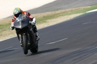 Troy Bayliss prueba la Ducati 1098 F08 en Vallelunga
