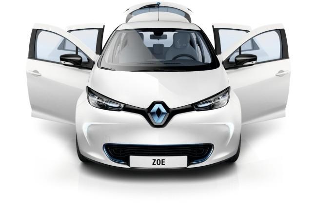 Renault ZOE Puertas abiertas