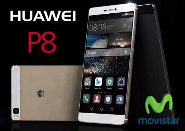 9161e438acf Huawei P8 desde 249 euros con Movistar y comparativa con Vodafone, Yoigo y  Amena