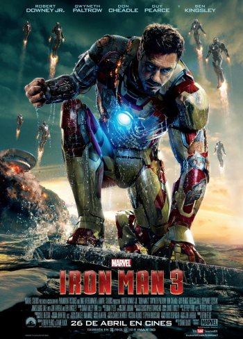 El cartel final de Iron Man 3