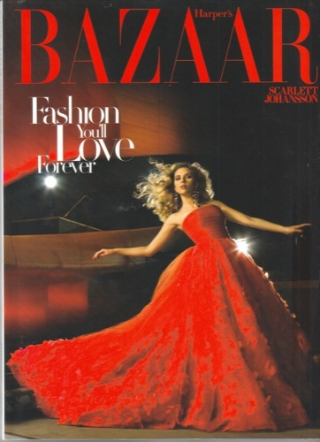Foto de Scarlett Johansson sublime en el editorial para Harper's Bazaar USA (1/7)