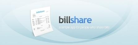 Billshare, gestionando los gastos compartidos