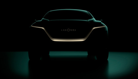 El Aston Martin Lagonda All Terrain Concept que llegará en Ginebra se deja ver, pero poco, en este primer adelanto