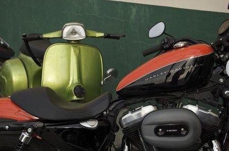 Harley Davidson Vs Vespa ¿Quién gana?