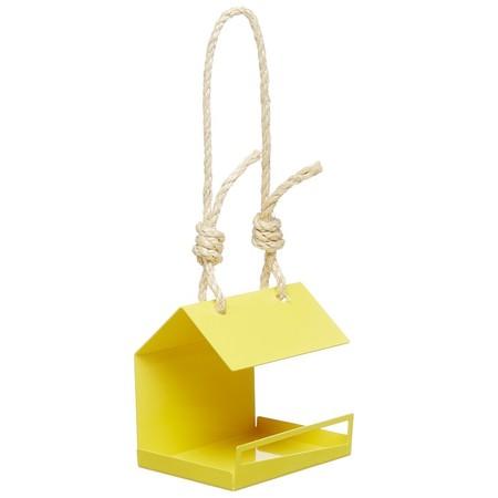 Yellow Bird Feeder Juliajacobdesigns Etsy Com