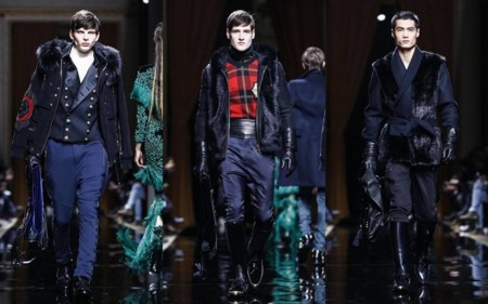 Balmain Otono Invierno Paris Fashion Week 2016 2017 1