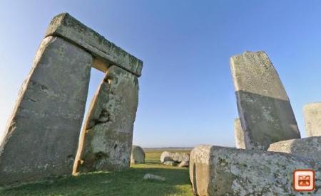 Panorámica interactiva de Stonehenge
