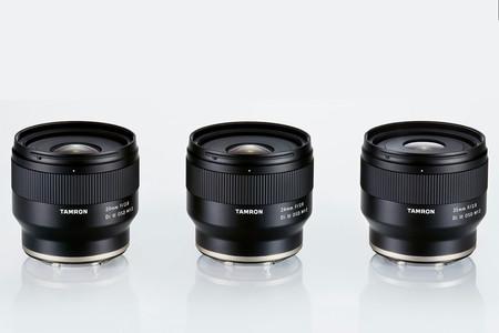 Tamron 20mm, 24mm y 35mm F2.8 Di III OSD M1:2: los nuevos gran angulares japoneses para usuarios de sistemas con montura Sony E