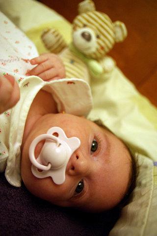 La foto de tu bebé: Irene y el Señor Oso