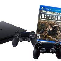En el Super Weekend de eBay puedes estrenar una PS4 Slim de 1 TB con 2 Dual Shock y el juego del momento, Days Gone, por sólo 355,95 euros
