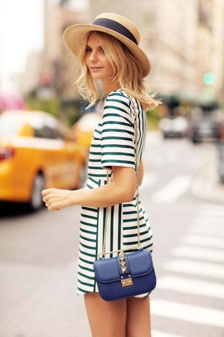Duelo a rayas (y de vestidos): ¿con qué tono te quedas?