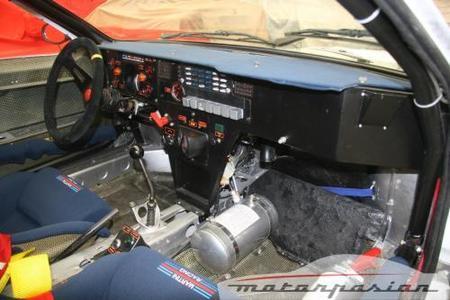 Lancia 037 Interior