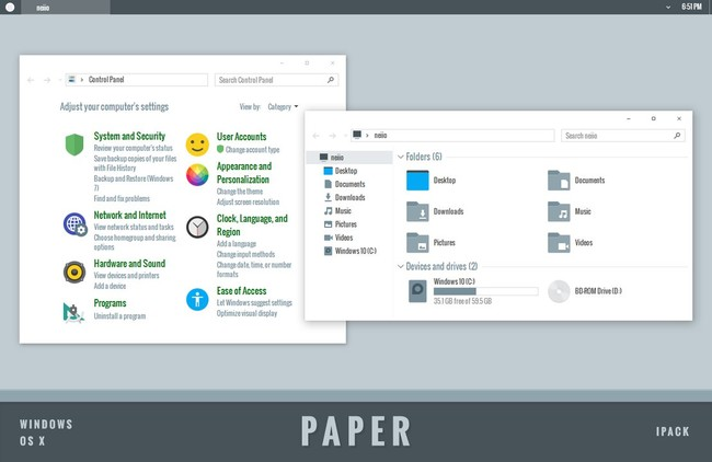 Paper Icons By Neiio Dafippw