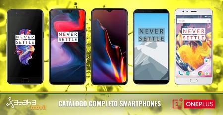 Así encaja el OnePlus 6T junto al resto de smartphones OnePlus en 2018