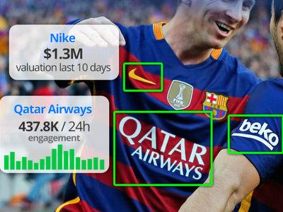 Blinkfire y un enorme reto para la inteligencia artificial: medir bien por primera vez cuánto se ve el patrocinador de un equipo de fútbol