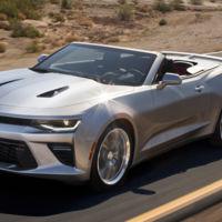 2016 Chevrolet Camaro Convertible: aquí está el Camaro descapotable en sus primeras fotos
