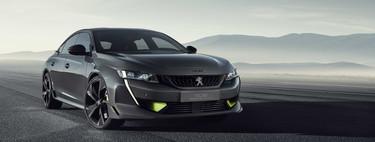 Peugeot 508 Sport Engineered Concept: un sedán híbrido de tres motores y 0 a 100 km/h en 4.3 segundos