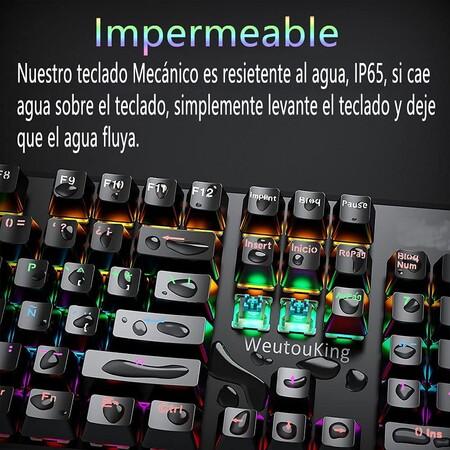 Teclado mecánico de oferta en Amazon México