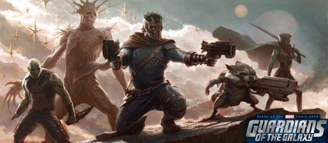 Primera imagen promocional de la película Guardians of the Galaxy