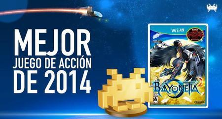 Mejor juego de acción de 2014 según los lectores de VidaExtra: Bayonetta 2