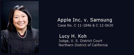 La juez Lucy H. Koh pide a Apple y Samsung que fumen la pipa de la paz